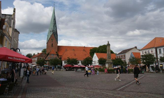 Marktplatz von Eutin