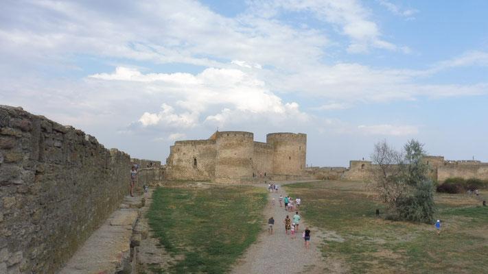 Festung Akkermann in der Dnistermündung/ Ukraine