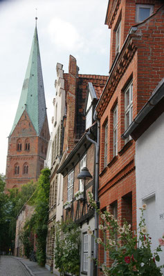 Die Weberstrasse. Viele Berufsstände haben ihre eigenen Strassen.