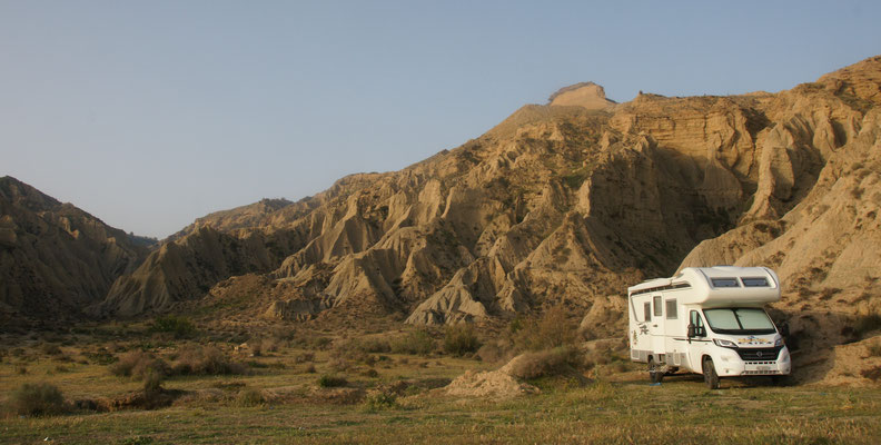 Unser Stellplatz ca 30 km vor Al Hoceima