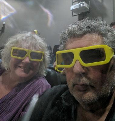 Wir sind auf den 3D Film bestens vorbereitet.