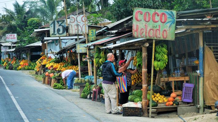 Exotische Früchte in Hülle und Fülle