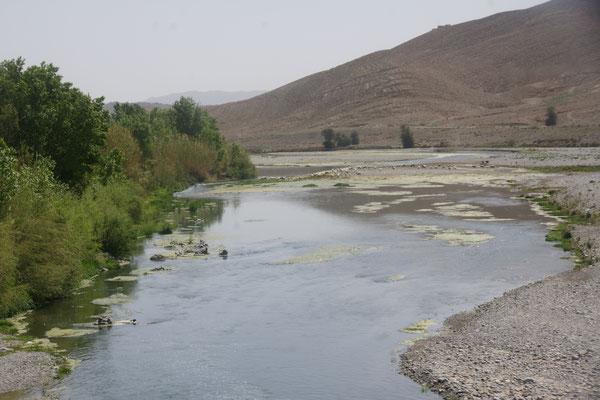 Der Fluss vor Riche