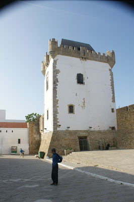 Der Turm in der Medina von Asilah