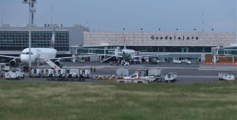 Ankunft in Guadalajara