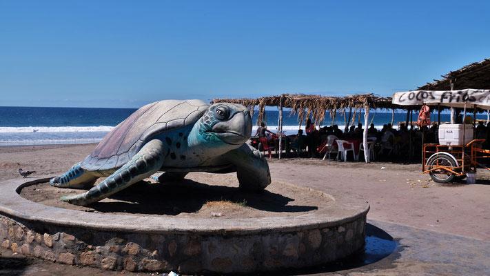 .. wir in Puerto Artista den Pazifik erreichen.