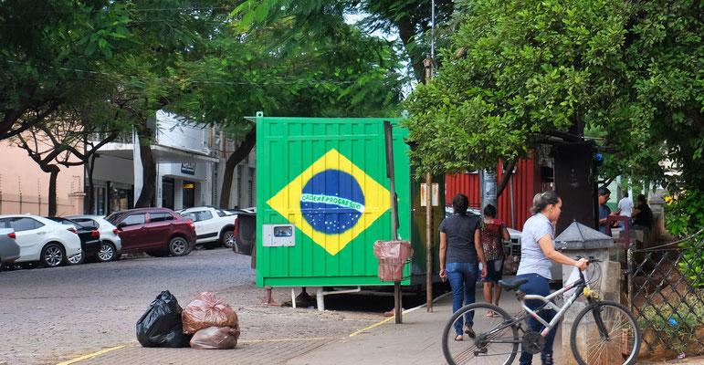 Wir sind in Brasilien