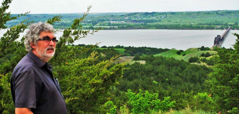 Blick über den Missouri River