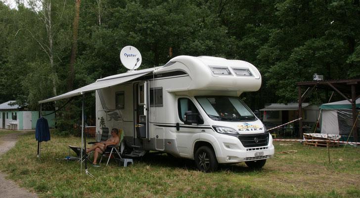 Camping Turawik in Turawa direkt am Seelein.