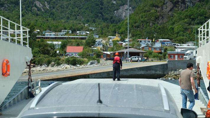 Die letzte Fährüberfahrt auf der Carretera Austral
