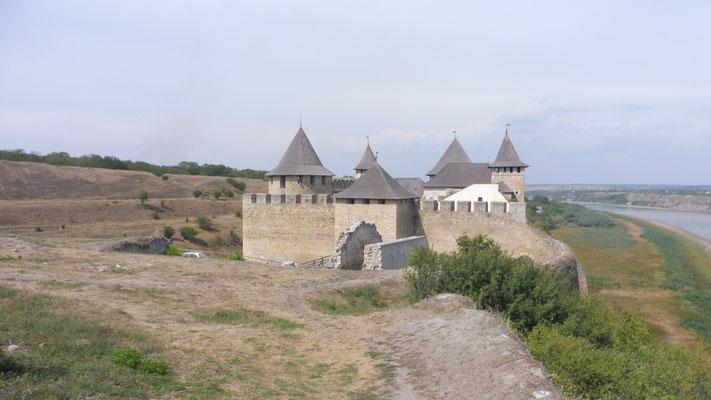 Festung Chotyn. Uneinnehmbar vor Jahren