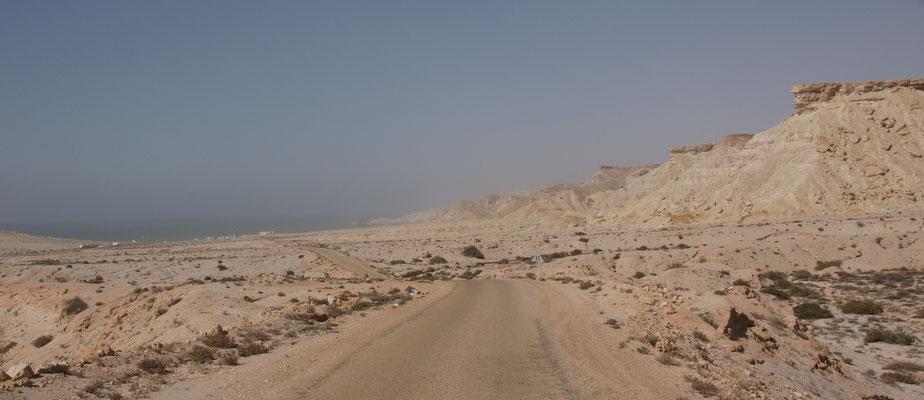 Runter zum Oued Kraa
