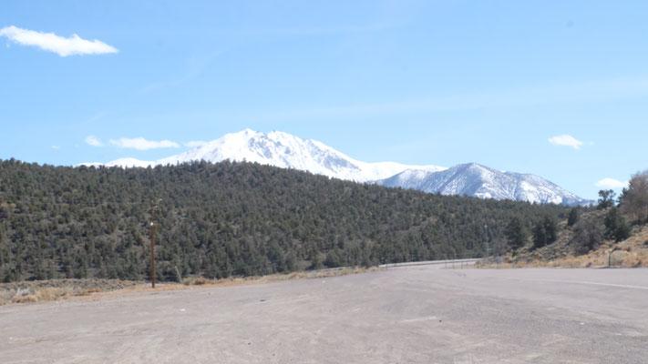 ...bis in die Sierra Nevada  Kaliforniens