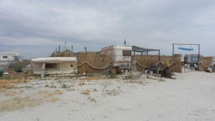 Am Ende des ellenlangen Strandes