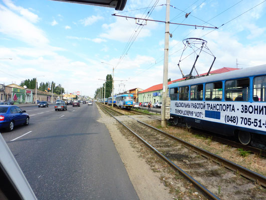 Trams in Odessa