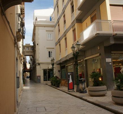 Die Altstadt ist sehr sauber und gepflegt.