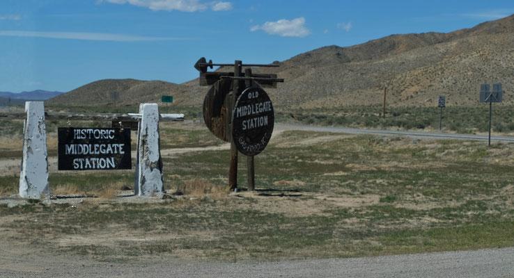 Eine Ponyrouten Station