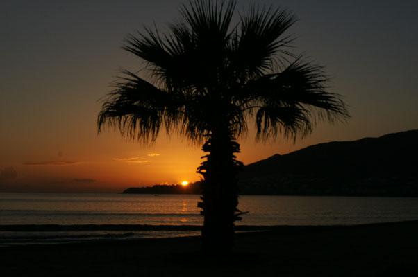 Wieder einen traumhaften Sonnenuntergang
