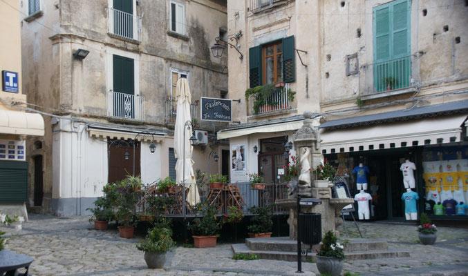 .... und Tropea's Plätze
