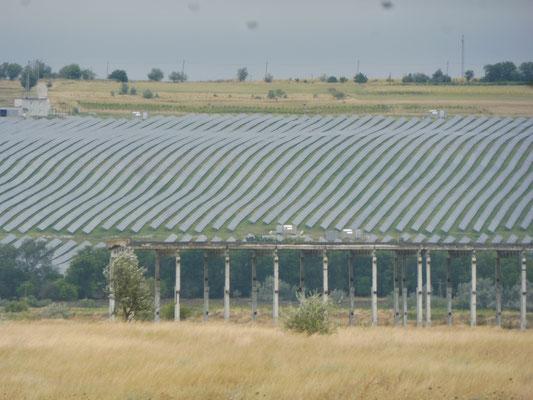 Riesiger Solarpark in der Ukraine