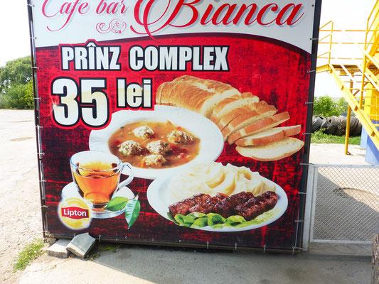 Ein ganzes Menu mit allem für 1.85 Euro