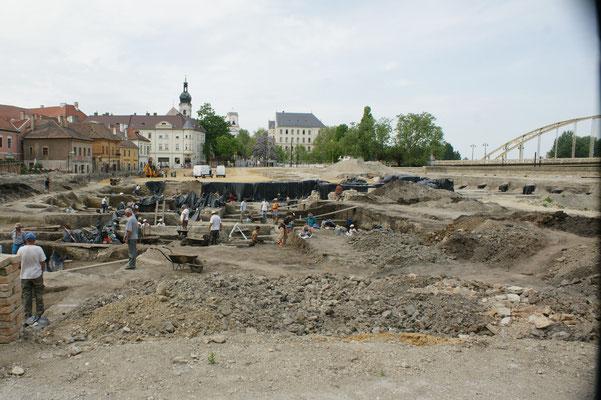 Römische Ausgrabungen in Györ