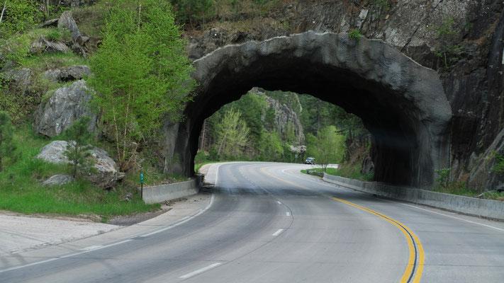 Noch ein Tunnel........