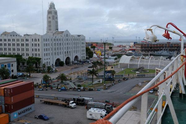 Angekommen in Montevideo.......