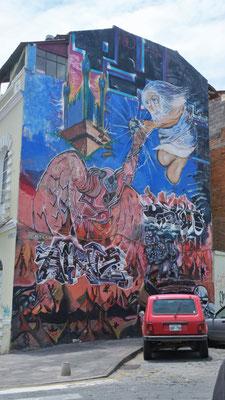 Auch hier schöne Wandmalereien