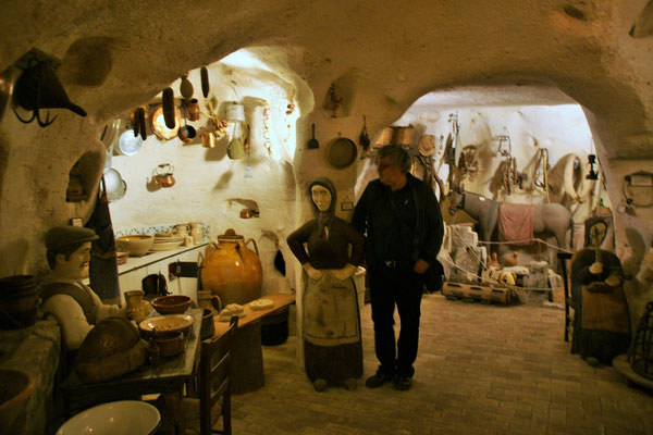 Ein Höhlenhausmuseum