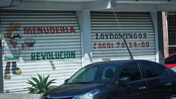 Hier findet die Revolution jeweils lediglich am Sonntag statt.