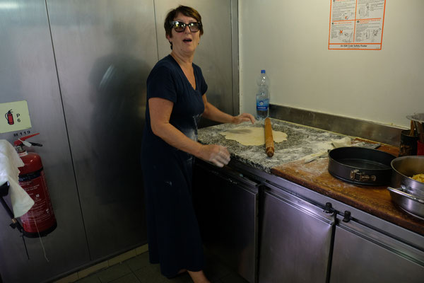 """... Mireille """" wütet"""" in der Küche"""