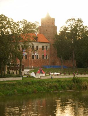 Das Schloss von Uniejow
