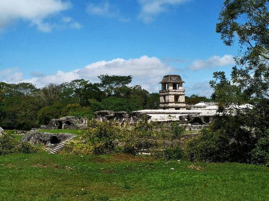 Die Mayaanlage Palenque