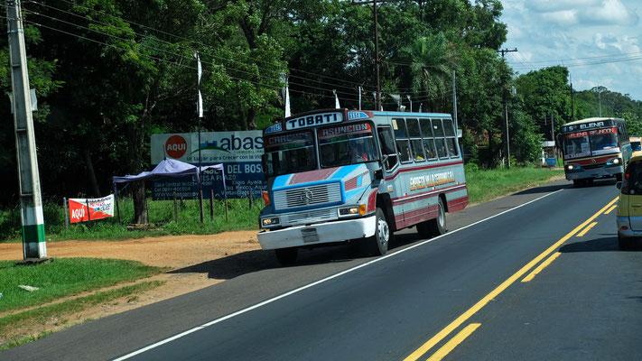 Und wieder Busse