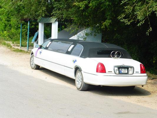 Die Hochzeitsauto