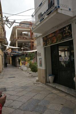 Das tunesische Restaurant....