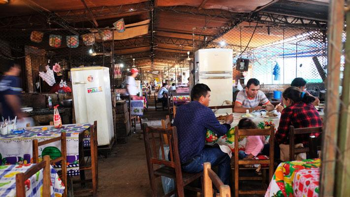 Die gedeckten Marktrestaurants