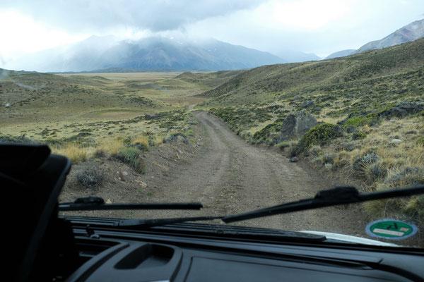 Und dann eher ein Wanderweg nach hinten zum El Rincon