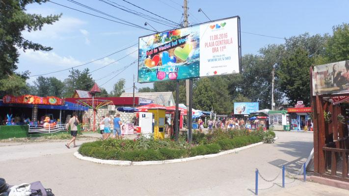 An der Riviera von Vadu lui voda in Moldawien