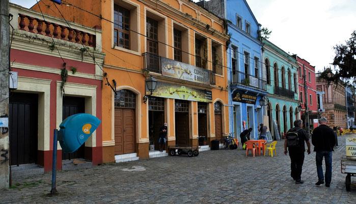 Die noch erhaltenen Häuser im Kolonialstil