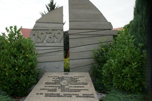 Auch hier eine Gedenkstätte