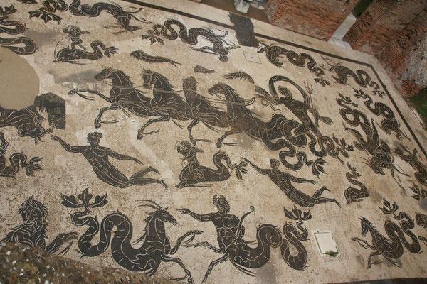 Das Mosaik von der Neptuntherme