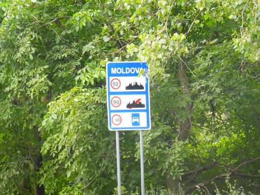 Wir sind in Moldova