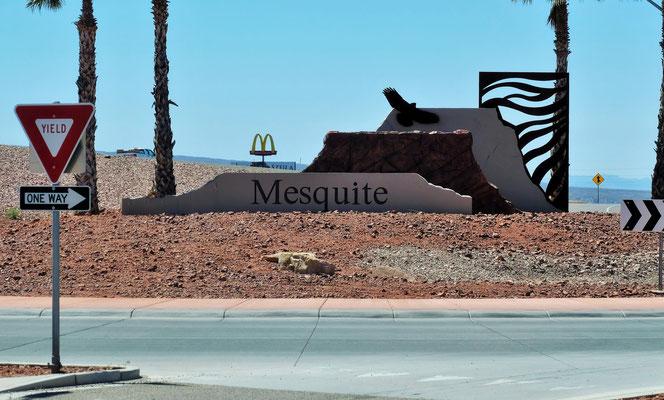 Ankunft in Mesquite