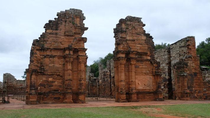 Die Ruinen des ehemaligen Klosters San Ignacio