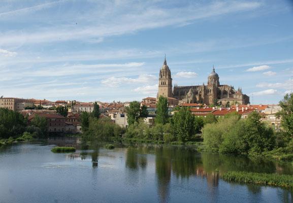 Salamanca liegt vor uns