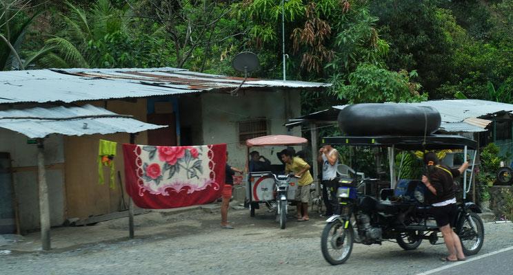 Die Mototaxis sind überall