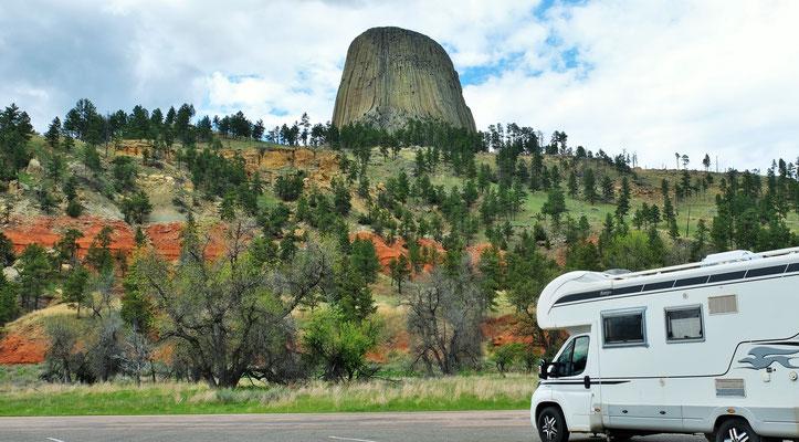 Der heilige Berg der Indianer