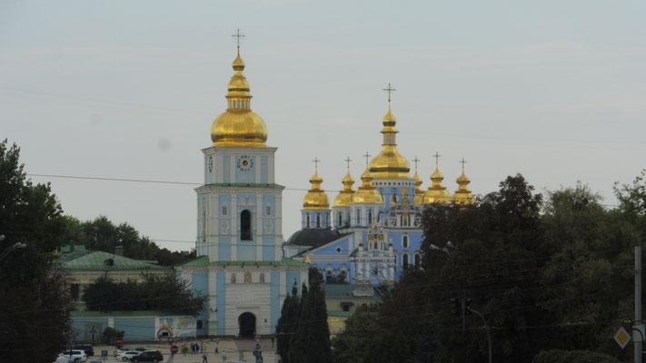 Sophienkathedrale in Kiew der Hagia Sofia in Instanbul nachempfunden